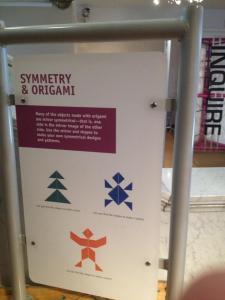 Origami Symmetry